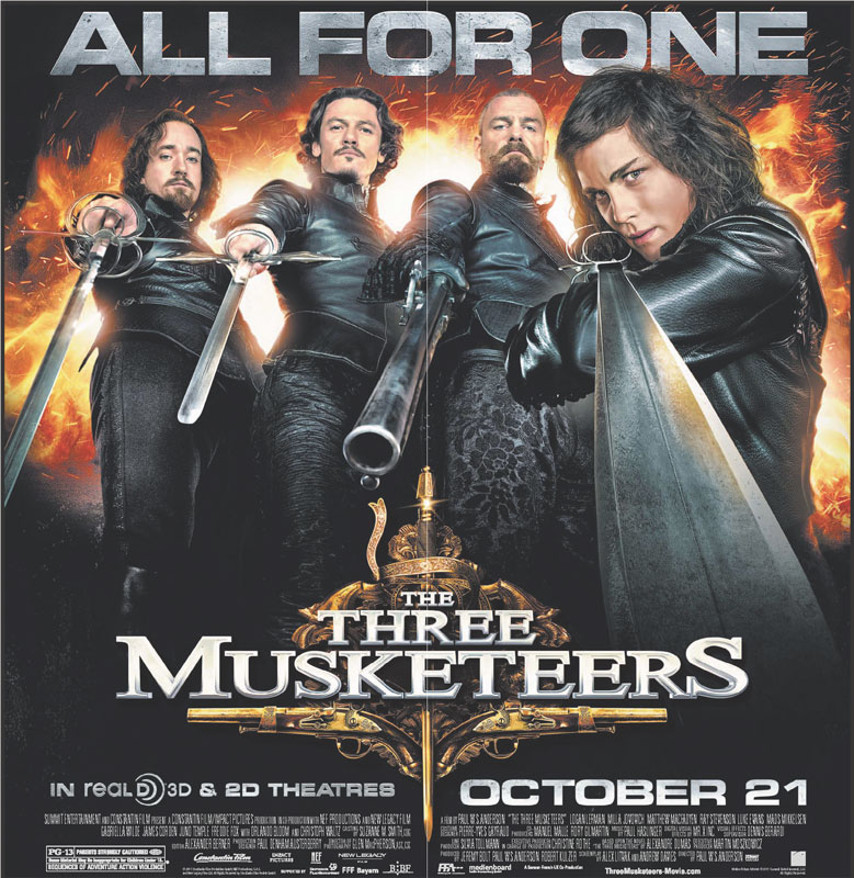 Three Musketeers LA Times Promo Image