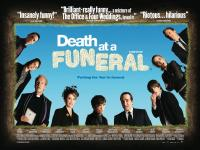 British Poster and Trailer for Death at a Funeral