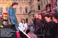 Glamour (Oct 2011) Interview with the cast of Three Musketeers