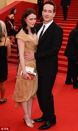 Keeley and Matthew on the red carpet at Cannes